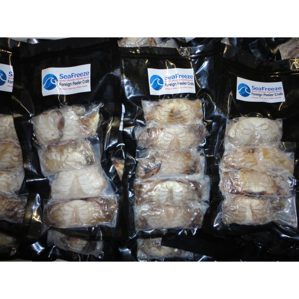 Crabs Foreign Frozen Peeled Peeler  (5 per pk)