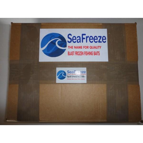 Squid Unwashed Loligo 5 lb Boxed