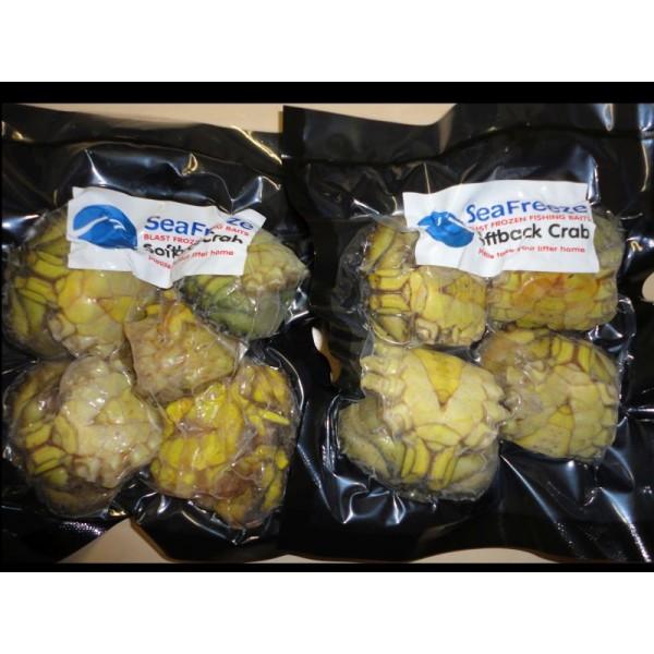 Crabs English Frozen Softback  (De-legged 4-6 per pk)