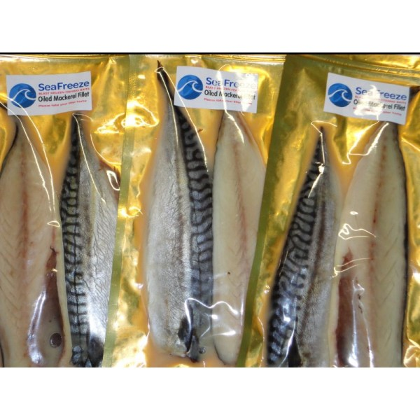 Oiled Mackerel Fillets