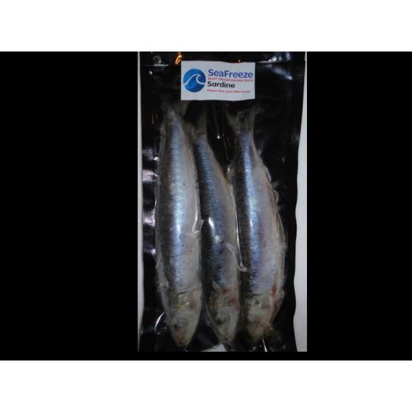 Sardines natural 3-4 per pkt