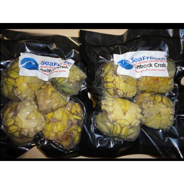 Crabs English Frozen Softback  (De-legged 4-6 per pk)